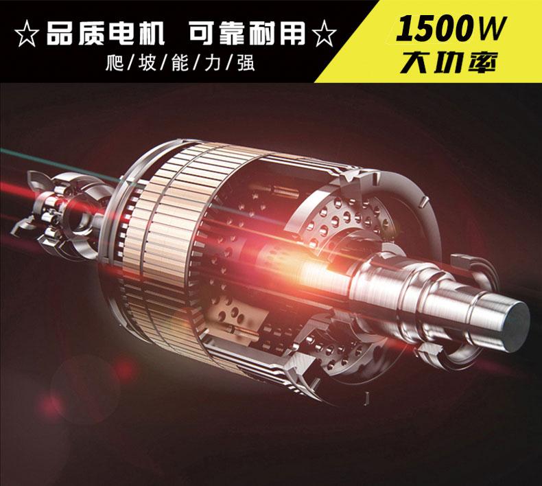 DJ2000FYWP高压雾炮驾驶式扫地车使用品质电机